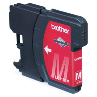 Brother LC-1100 (LC1100M) - cartridge, magenta (purpurová)