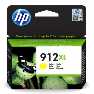 HP 912-XL (3YL83AE#301) - cartridge, yellow (žlutá)