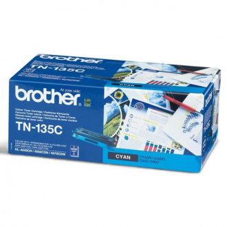 Brother TN-135 (TN135C) - toner, cyan (azurový)