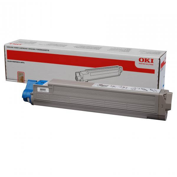 OKI originální toner 44036023, cyan, 15000str., OKI C910