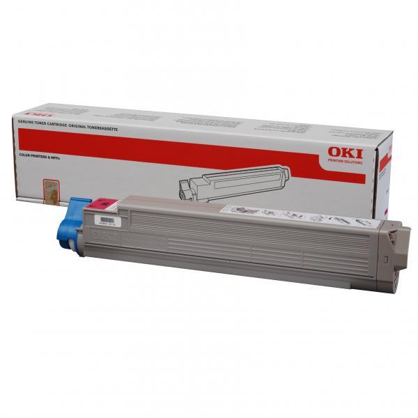 OKI originální toner 44036022, magenta, 15000str., OKI C910