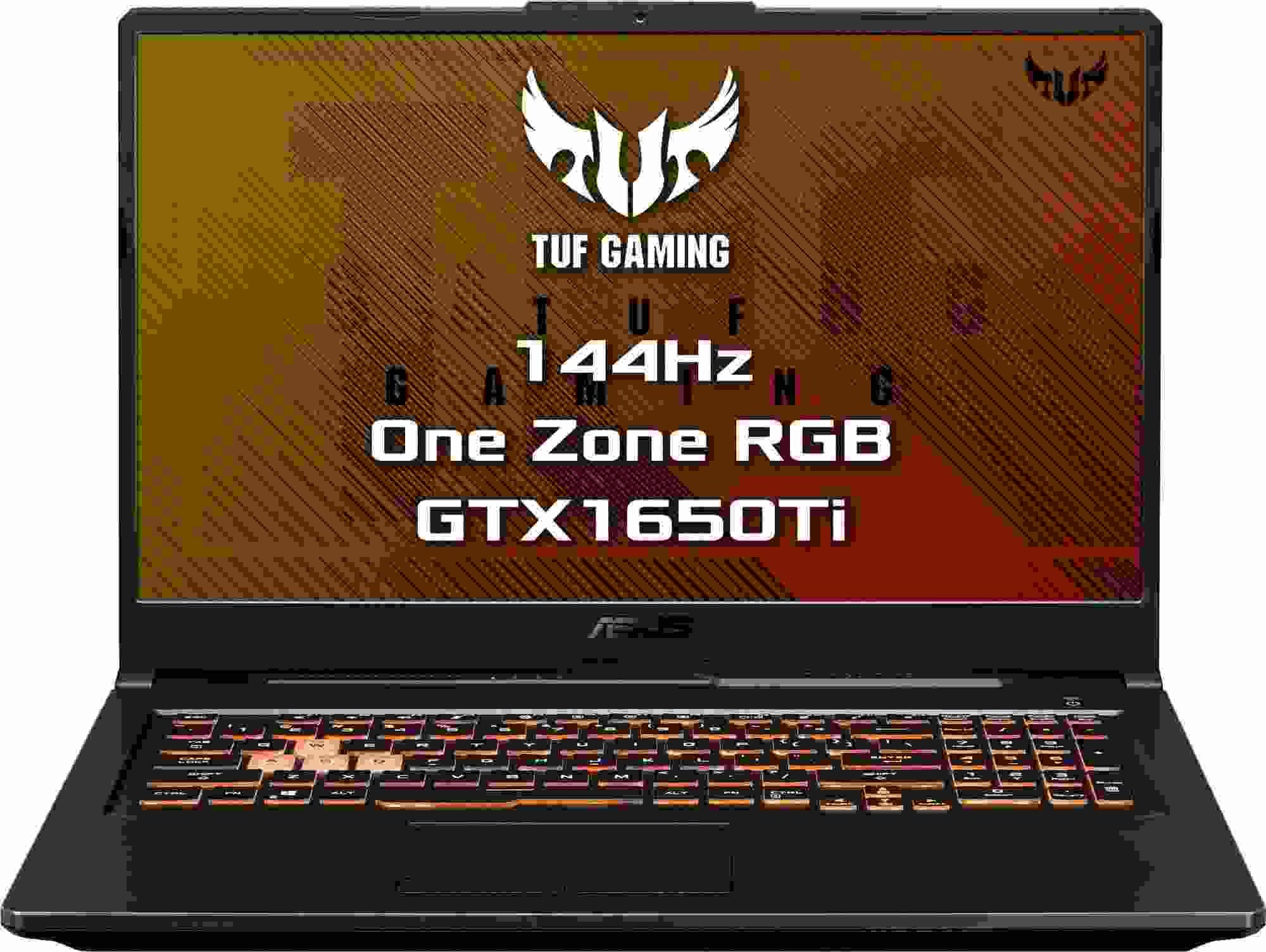 """ASUS NTB TUF Gaming - 17.3"""", i7-10870H, 16GB, 512SSD, NVIDIA GeForce GTX 1650 Ti, W10H, Černá"""