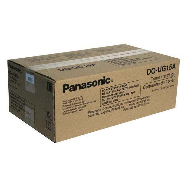 Panasonic originální toner DQ-UG15-PU, black, 6000str., Panasonic DP-150, 150FP
