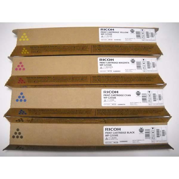 Ricoh originální toner 841196, 842057, 841280, black, 10000str., Ricoh MPC2550, MPC2030, MPC2050, MPC2530