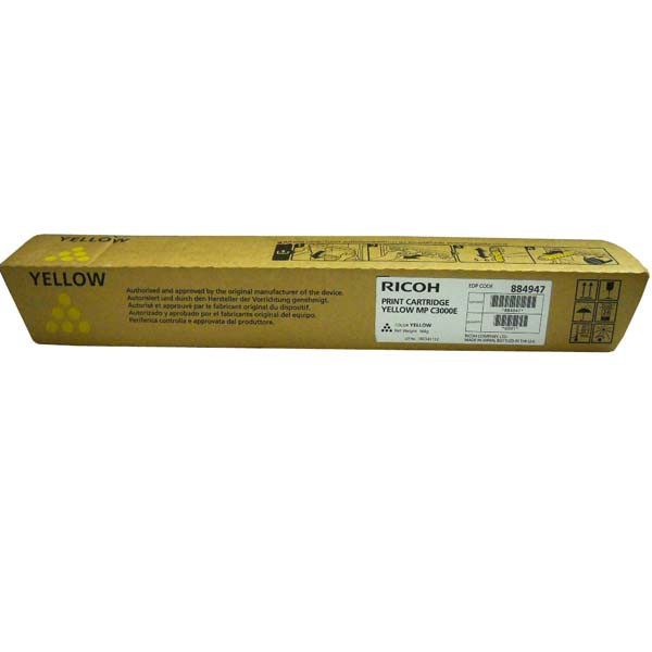 Ricoh originální toner 888641, 884947, 842031, yellow, 15000str., Ricoh MPC 2000, 2500, AD, 3000, AD