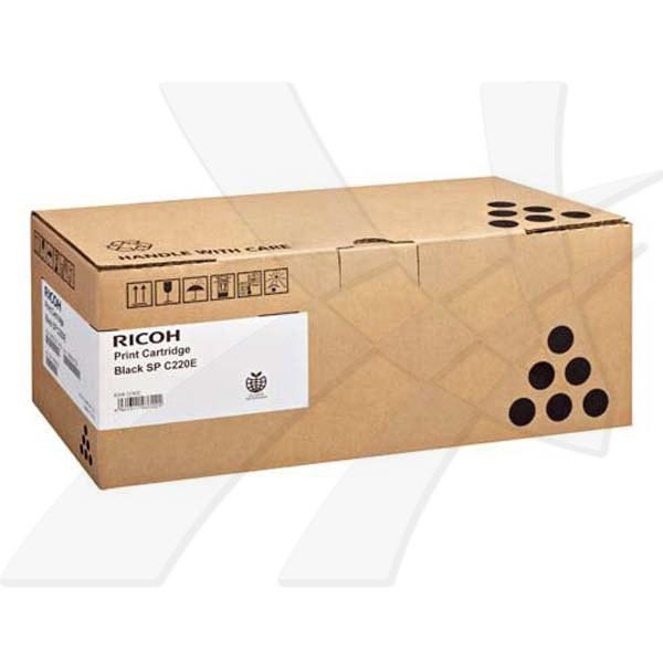 Ricoh originální toner 407642, 406765, 406052, 406140, black, 2000str., Ricoh Aficio SPC220N, SPC220S, SPC221N, SPC221SF, SPC222