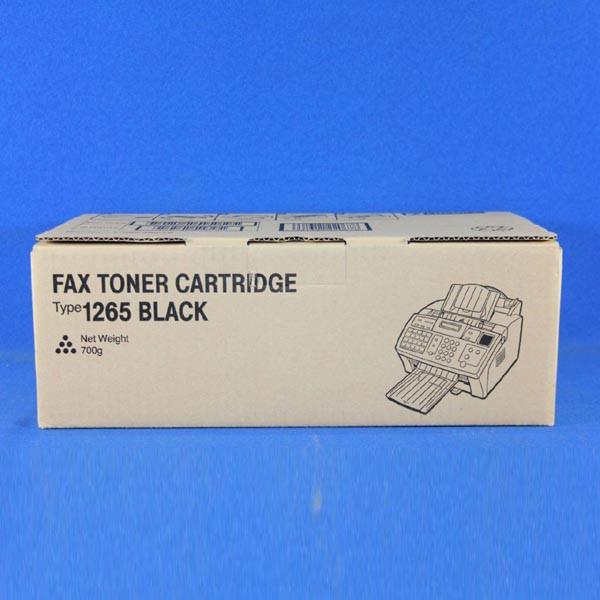Ricoh originální toner 412638, black, 4300str., Typ 1265D, Ricoh Laserfax 1120L, 1160L