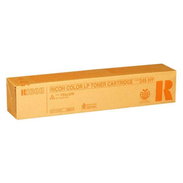 Ricoh originální toner 888313, yellow, 15000str., Typ 245, Ricoh Aficio CL-4000, HDN, SPC410DN, SPC420DN