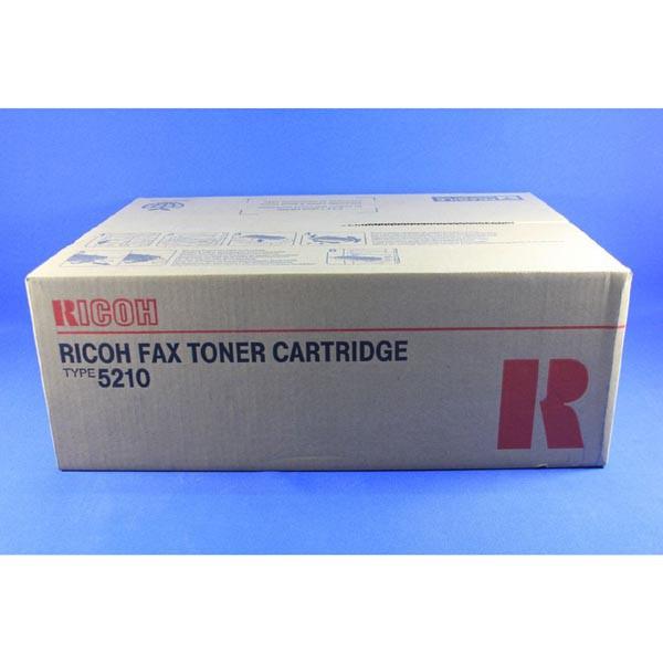 Ricoh originální toner 430245, black, 10000str., Typ 5210, Ricoh Fax 500L