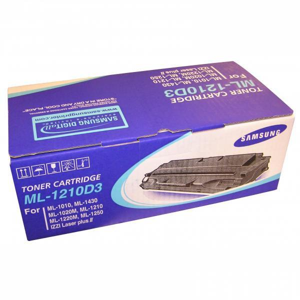 Samsung originální toner ML-1210D3, black, 2500str., Samsung ML-1210, 1220, 1250, 1430