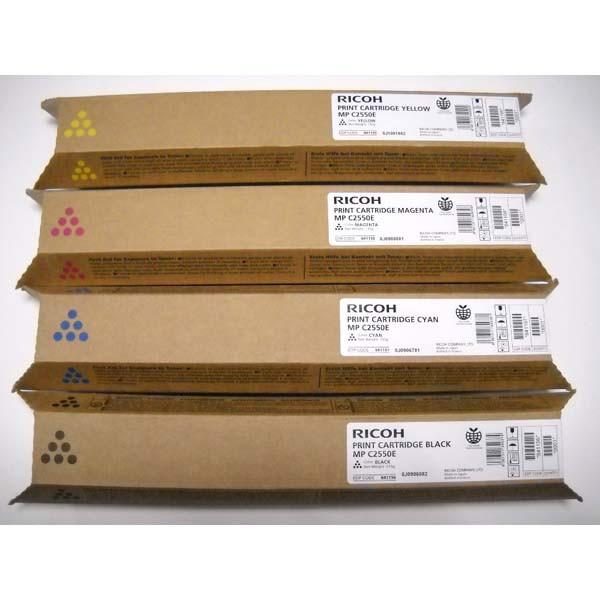 Ricoh originální toner 841199, 842058, 841283, yellow, 5500str., Ricoh MPC2550, MPC2030, MPC2050, MPC2530