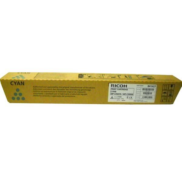 Ricoh originální toner 841427, 841127, 842046, cyan, 16000str., Ricoh MP C2800, 3300, 3001, 3501