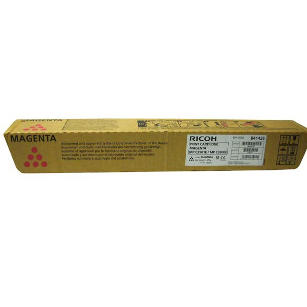 Ricoh originální toner 841426, 842045, magenta, 16000str., Ricoh MP C2800, 3300, 3001, 3501