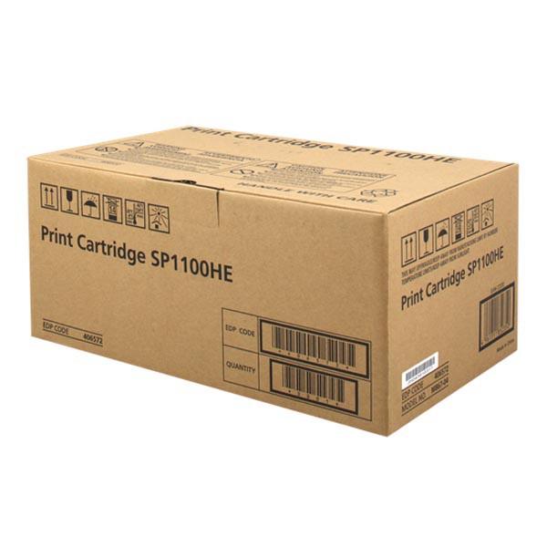 Ricoh originální toner 406572, black, 4000str., high capacity, Ricoh Aficio SP1100S, SF