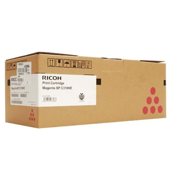 Ricoh originální toner 406481, 407636, magenta, 6000str., Ricoh SP C310, C311, C312, SP C231, C232