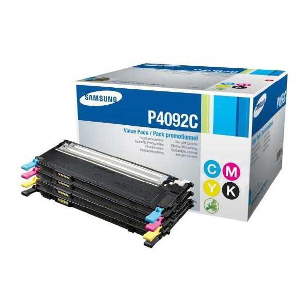 Samsung originální toner CLT-P4092C, CMYK, 1500/3x1000str., Samsung CLP-310, N, CLP-315, CLX-3170FN, CLX-3175N, FN, FW