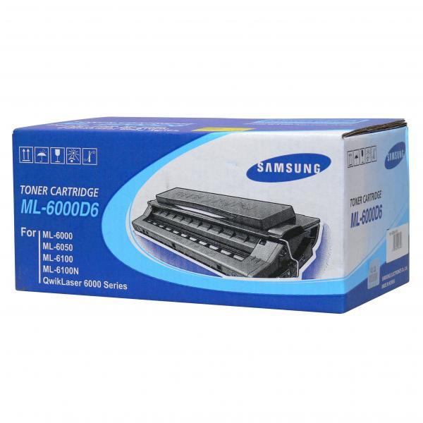 Samsung originální toner ML-6000D6, black, 6000str., Samsung ML-6000, 6050, 6100