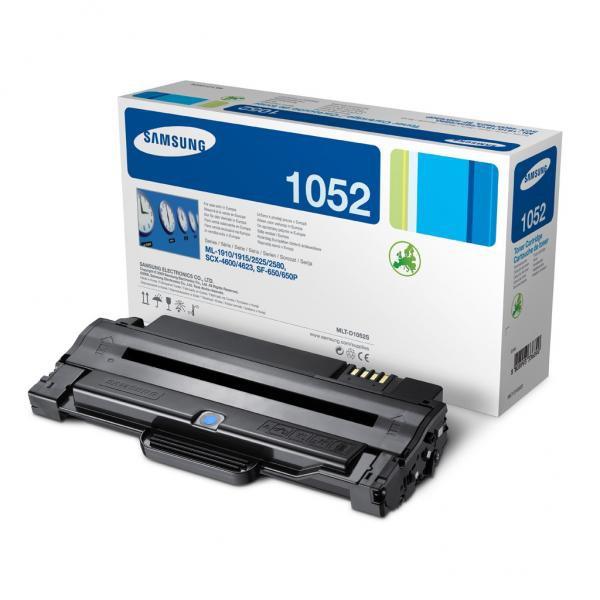 Samsung originální toner MLT-D1052S, black, 1500str., Samsung ML-1910, 1915, 2525, 2580N, SCX-4600, 4623F, SF 65
