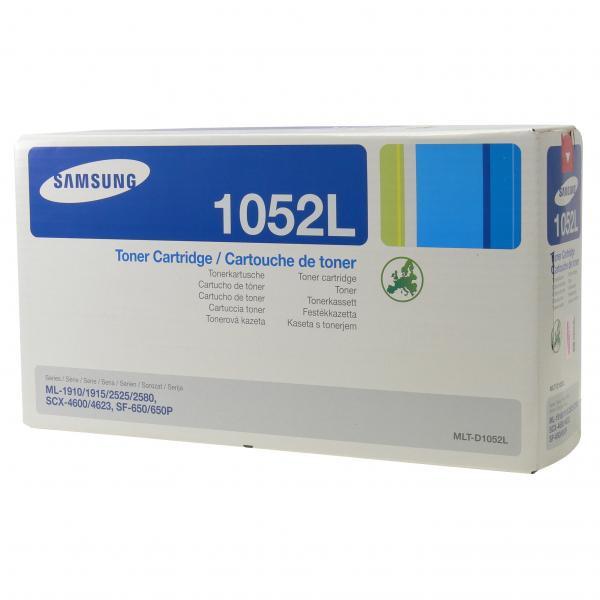 Samsung originální toner MLT-D1052L, black, 2500str., Samsung ML-1910, 1915, 2525, 2580N, SCX-4600, 4623F, SF 65