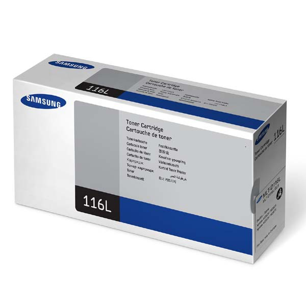 Samsung originální toner MLT-D116L, black, 3000str., Samsung SL-M2825DW, M2825ND, M2675FN, M2875FW, M2875FD