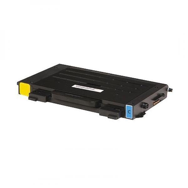 Samsung originální toner CLP-510D2C, cyan, 2000str., Samsung CLP-510, N