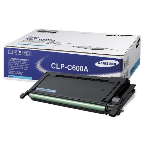 Samsung originální toner CLP-C600A, cyan, 4000str., Samsung CLP-600, N, 650, N