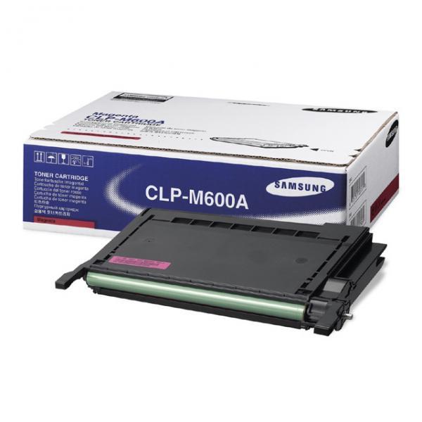 Samsung originální toner CLP-M600A, magenta, 4000str., Samsung CLP-600, N, 650, N