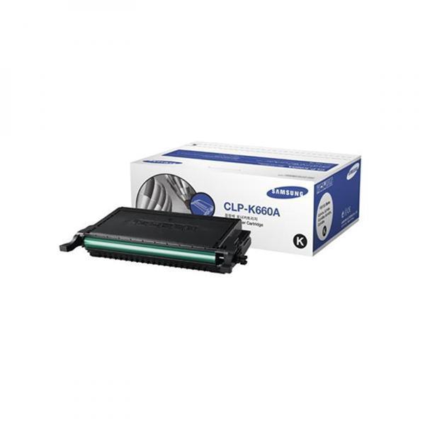 Samsung originální toner CLP-K660A, black, 2500str., Samsung CLP-610, 660D, 660ND, CLX-6200ND, 6210FX, 6240FX