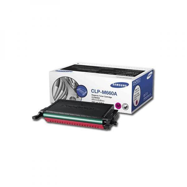 Samsung originální toner CLP-M660A, magenta, 2000str., Samsung CLP-610, 660D, 660ND, CLX-6200ND, 6210FX, 6240FX