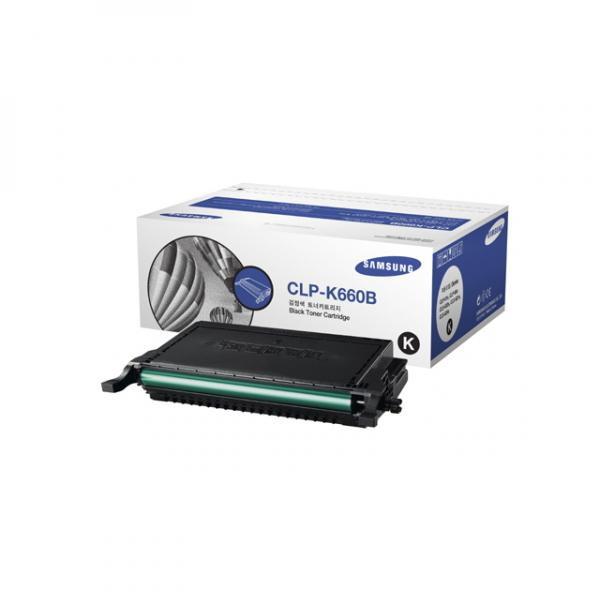 Samsung originální toner CLP-K660B, black, 5500str., Samsung CLP-610, 660D, 660ND