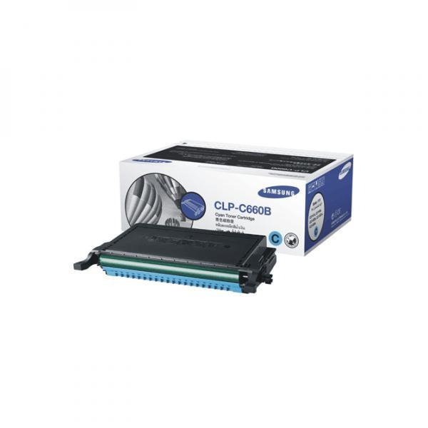 Samsung originální toner CLP-C660B, cyan, 5000str., Samsung CLP-610, 660D, 660ND