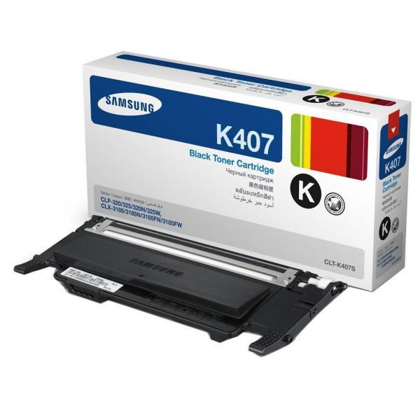Samsung originální toner CLT-K4072S, black, 1500str., Samsung CLP-320, CLP-325, CLX-3185