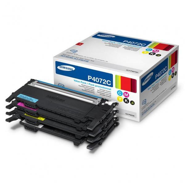 Samsung originální toner CLT-P4072C, CMYK, 1500/1000str., Samsung CLP-325, CLX-3185