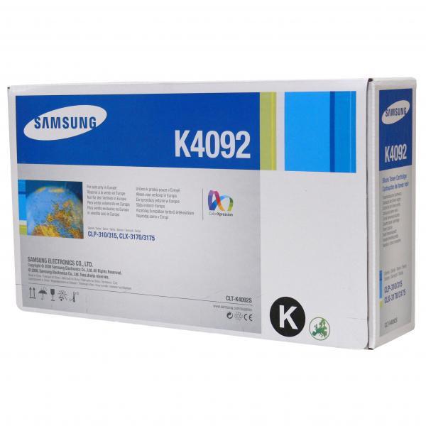 Samsung originální toner CLT-K4092S, black, 1500str., Samsung CLP-310, N, CLP-315, CLX-3170FN, CLX-3175N, FN, FW
