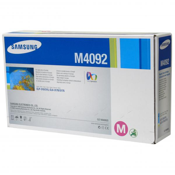 Samsung originální toner CLT-M4092S, magenta, 1000str., Samsung CLP-310, N, CLP-315, CLX-3170FN, CLX-3175N, FN, FW