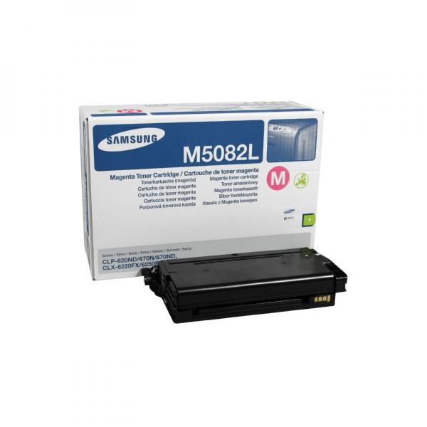 Samsung originální toner CLT-M5082L, magenta, 4000str., high capacity, Samsung CLP 620ND, 670N, 670ND, CLX-6220FX, 6250FX, 6250F