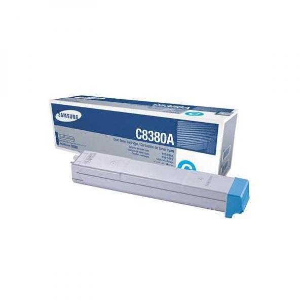 Samsung originální toner CLX-C8380A, cyan, 15000str., Samsung CLX-8380N, CLX-8380ND