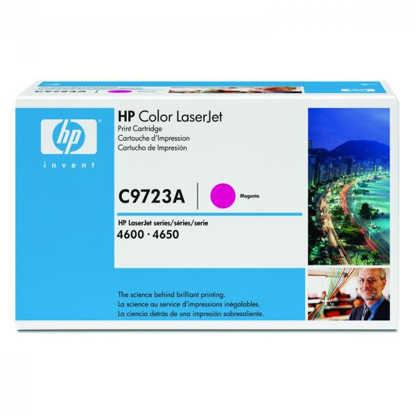 HP originální toner C9723A, magenta, 8000str., 641A, HP Color LaserJet 4600, N, DN, DTN, HDN, 4650