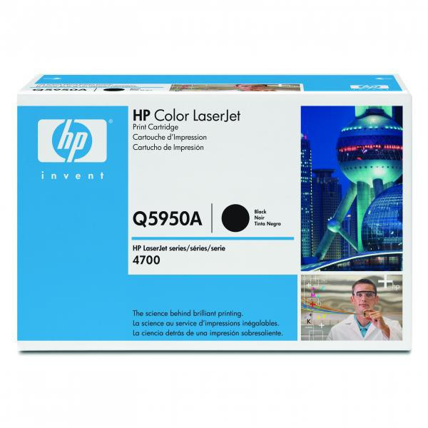 HP originální toner Q5950A, black, 11000str., HP Color LaserJet 4700, n, dn, dtn, ph+