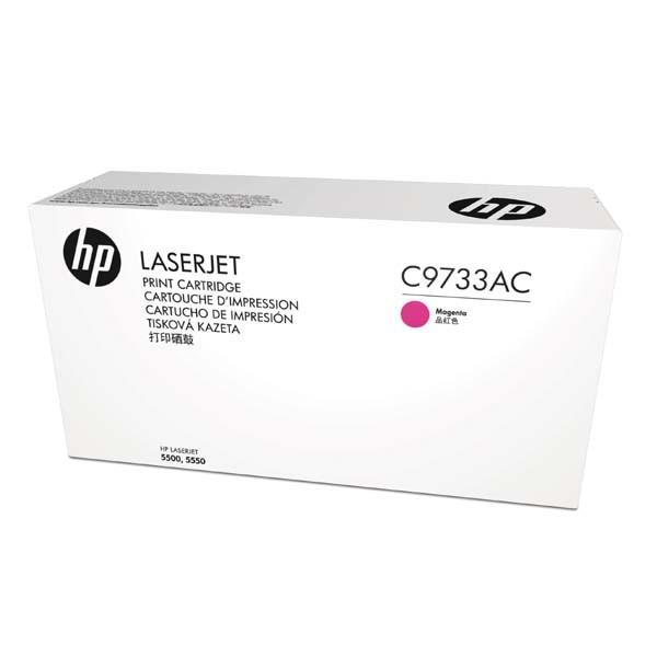 HP originální toner C9733AC, magenta, 12000str., 645A, HP Color LaserJet 5500, N, DN, HDN, DTN, kontraktový produkt
