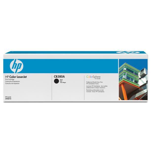 HP originální toner CB380A, black, 16500str., HP Color LaserJet CP6015n, dn, xh