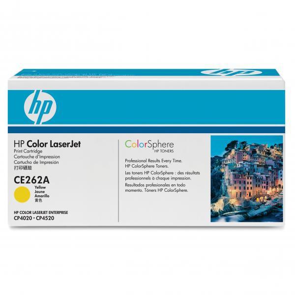 HP originální toner CE262A, yellow, 11000str., 648A, HP Color LaserJet CP4025, CP4525