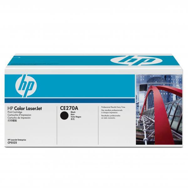 HP originální toner CE270A, black, 13500str., 650A, HP LaserJet CP5525n, CP5525dn, CP5525xh