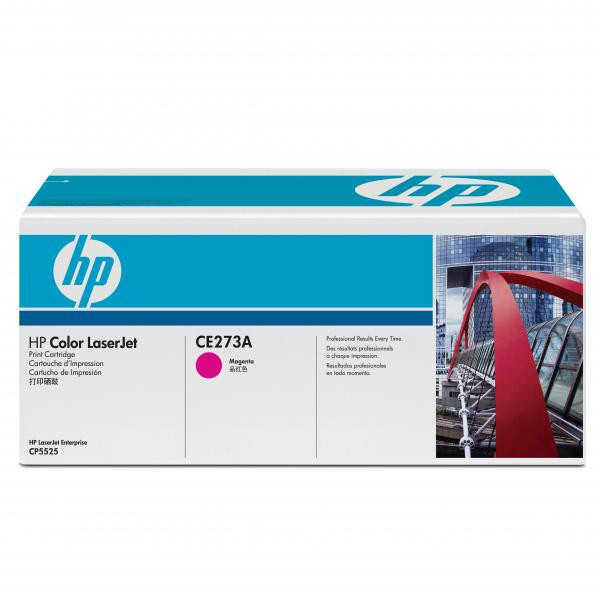 HP originální toner CE273A, magenta, 15000str., 650A, HP LaserJet CP5525n, CP5525dn, CP5525xh
