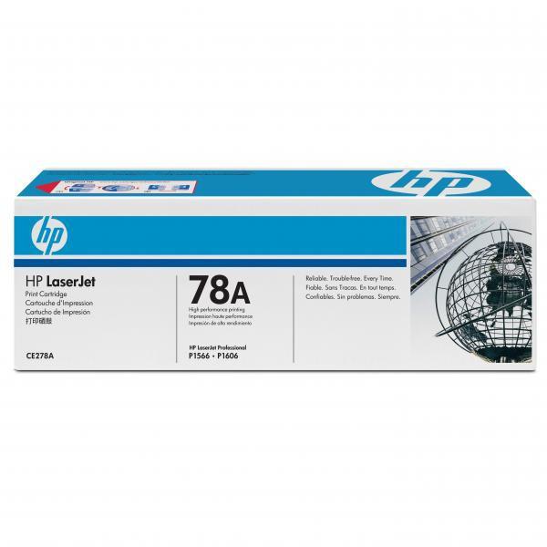 HP originální toner CE278A, black, 2100str., 78A, HP LaserJet Pro P1566, M1536
