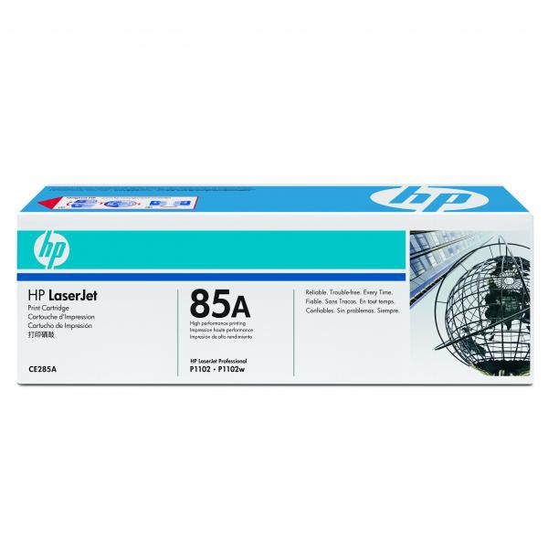 HP originální toner CE285A, black, 1600str., 85A, HP LaserJet Pro P1102, M1132, M1212