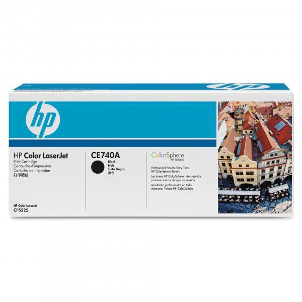 HP originální toner CE740A, black, 7000str., HP Color LaserJet CP5225