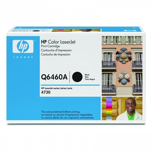 HP originální toner Q6460A, black, 12000str., HP Color LaserJet 4730mfp, 4730x, xm, xs