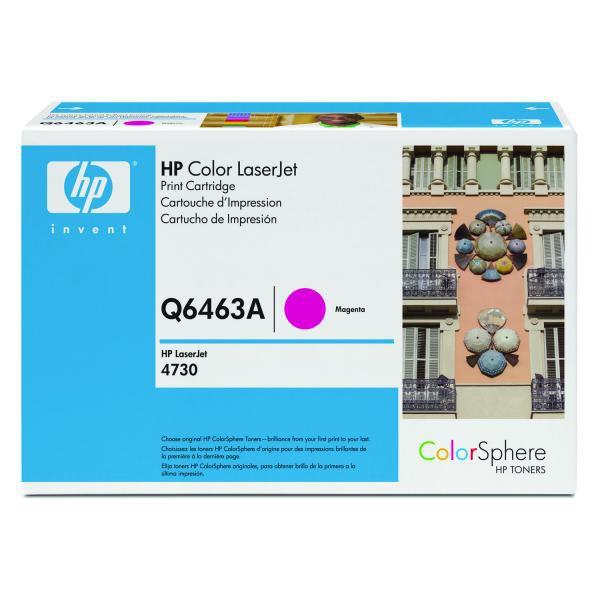 HP originální toner Q6463A, magenta, 12000str., HP Color LaserJet 4730mfp, 4730x, xm, xs