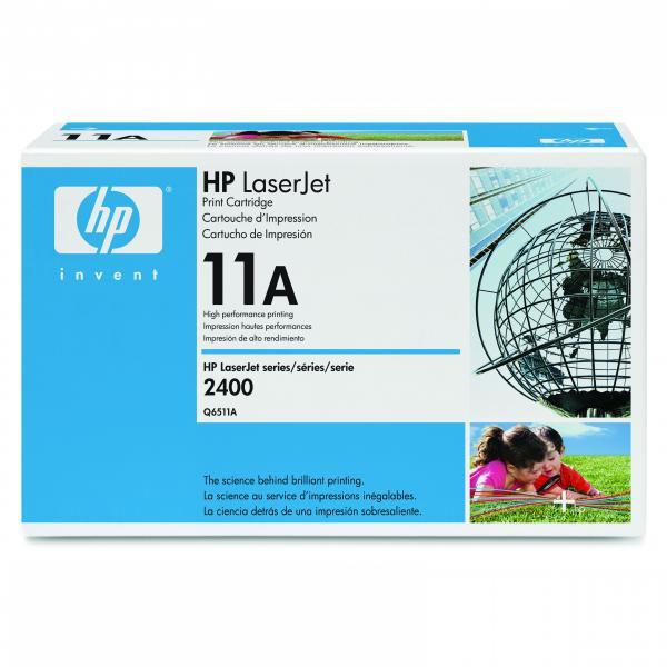 HP originální toner Q6511A, black, 6000str., 11A, HP LaserJet 2400, 2410, 2420, 2430